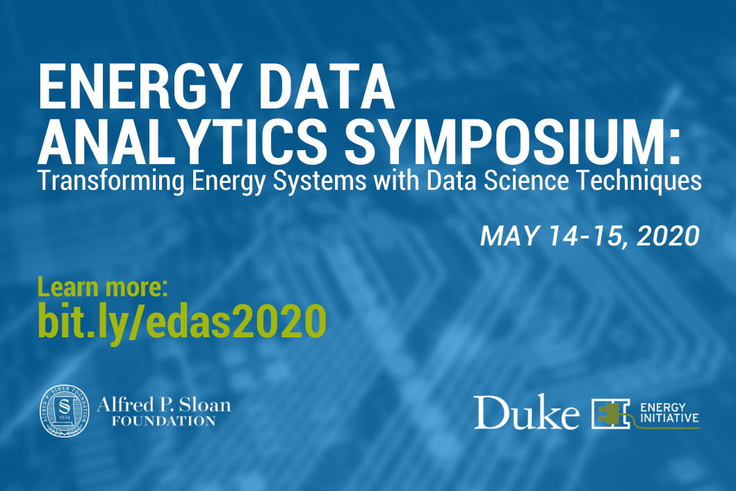 Energy Data Analytics Symposium
