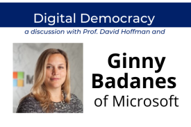 Ginny Badanes to speak via Zoom on July 15 at Duke