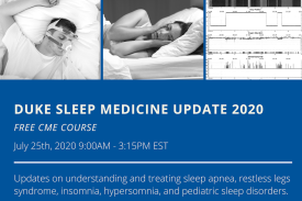 Duke Sleep Medicine Updates 2020 Free CME