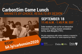 CarbonSim Game Lunch