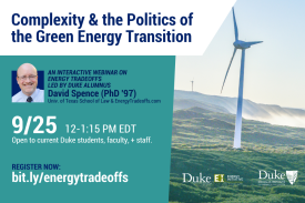 Energy Tradeoffs Webinar - details in the event description.
