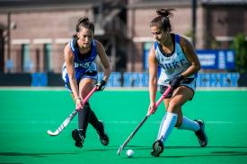 Duke Field Hockey players