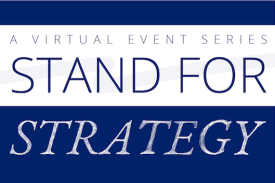 Stand for Strategy event with Ash Carter on Oct. 6