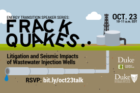 Frackquakes - a talk with Scott Poynter (RSVP: bit.ly/oct23talk)