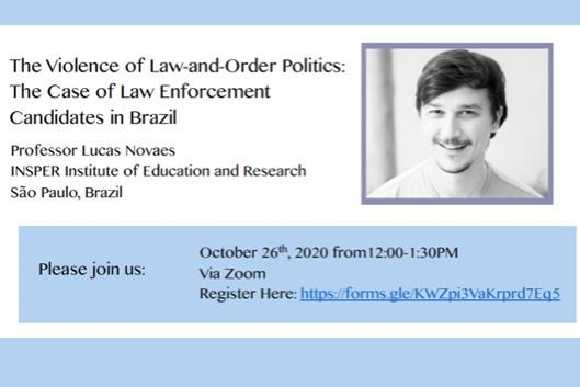 flyer for Lucas Novaes
