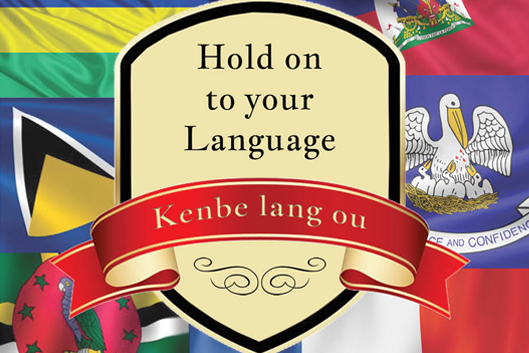 Hold on to your Language - Kenbe lang ou