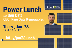 Power Lunch with Ben Catt, CEO of Pine Gate Renewables