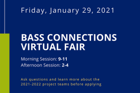 Bass Connections Virtual Fair