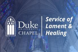 Service of Lament and Healing