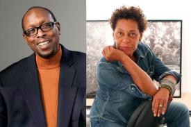 Mark Anthony Neal and Carrie Mae Weems