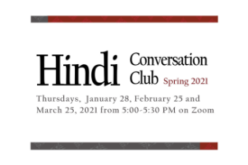 Hindi Conversation Club