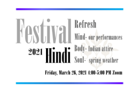 Hindi Festival in words