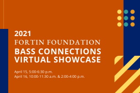 2021 Fortin Foundation Bass Connections Virtual Showcase.