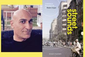 ziad profile picture and book cover