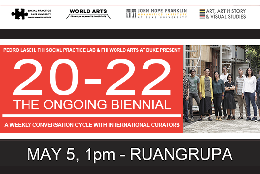 Ruangrupa at 20-22 The Ongoing Biennial Event Poster