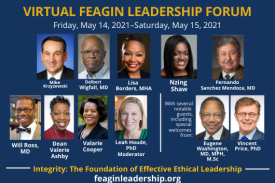 Feagin Leadership forum picture of presenters