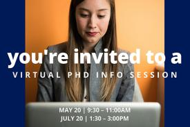 Virtual PhD Info Session