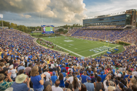 Football game in Wallace Wade Stadium